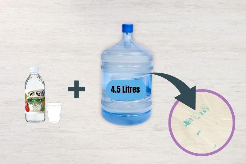White Vinegar Solution