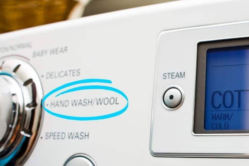 Wool Washing