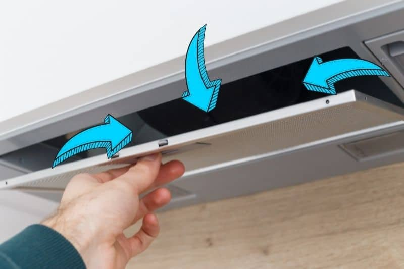 Cleaning Inside the Cooker Hood