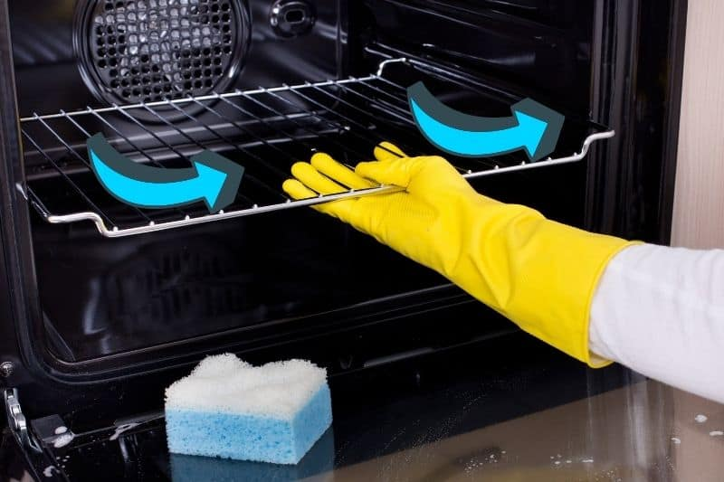 Fan-Assisted Oven Self-cleaning Feature