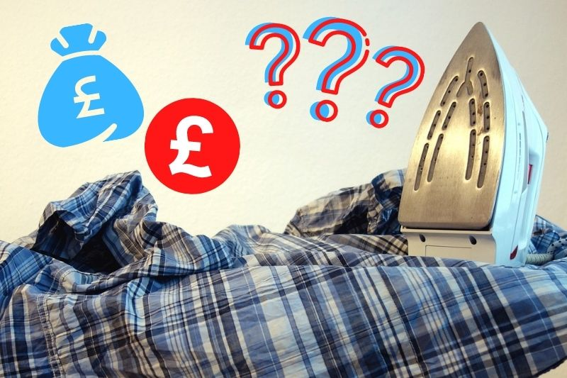 Guide to Home Ironing Services Prices in the UK
