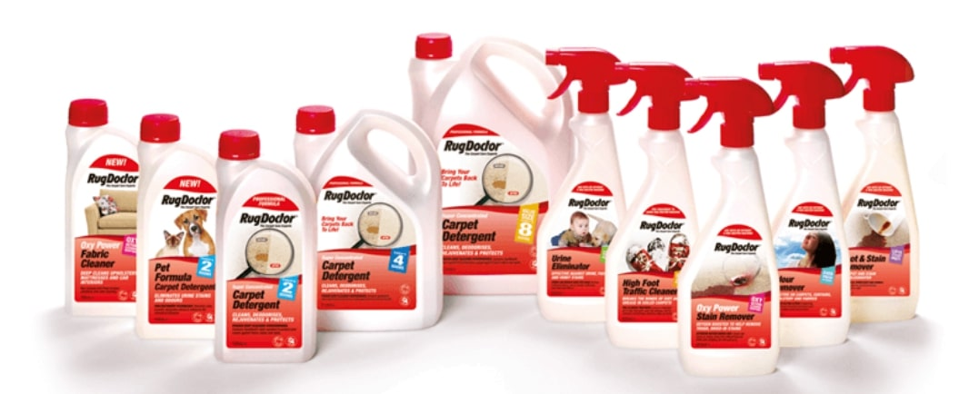 RugDoctor cleaning solutions