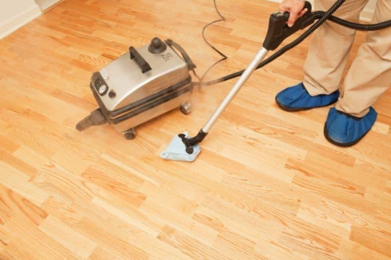 Using Steam Cleaner on Wooden Floors