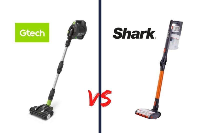 Gtech vs Shark cordless vacuum cleaner comparison