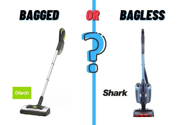 choosing between bagged or bagless vacuum cleaner