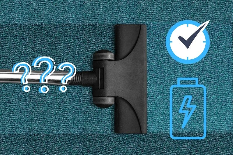 vacuum runtime or longer lasting battery