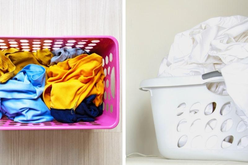 sort clothes by colour