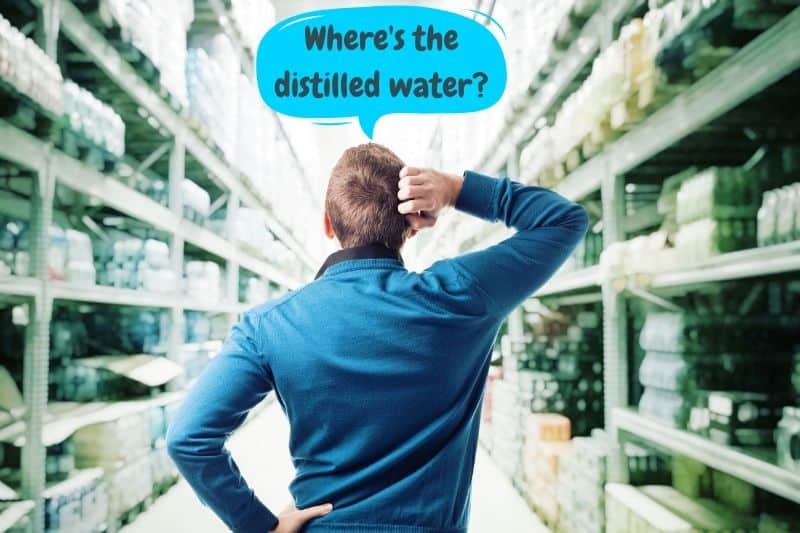 Can You Buy Distilled Water in UK Supermarkets