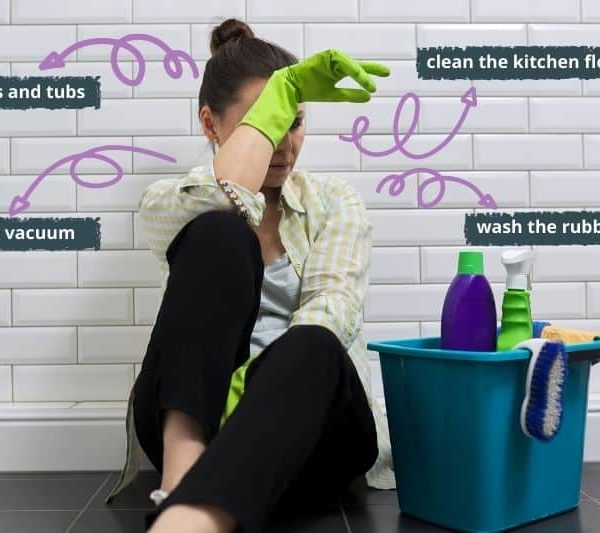 What to Do if You Can't Keep on Top of Housework