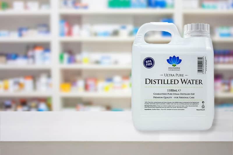 Distilled Water in Pharmacy