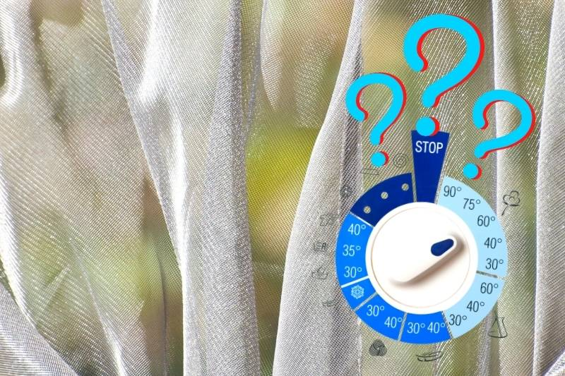 What Temperature Should You Wash Net Curtains At?