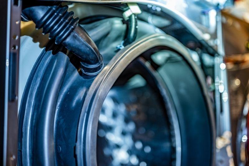 fix gasket issue on washing machine